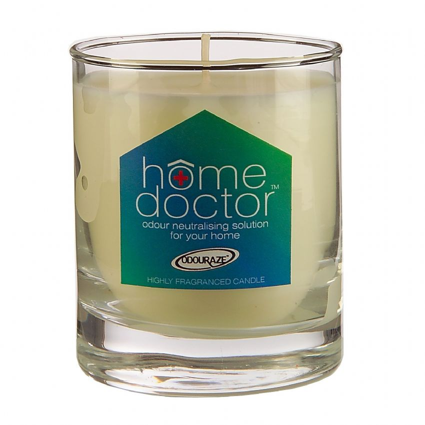 Glass Jar Odour Absorbing Scented Candles Home Doctor 40 Hours